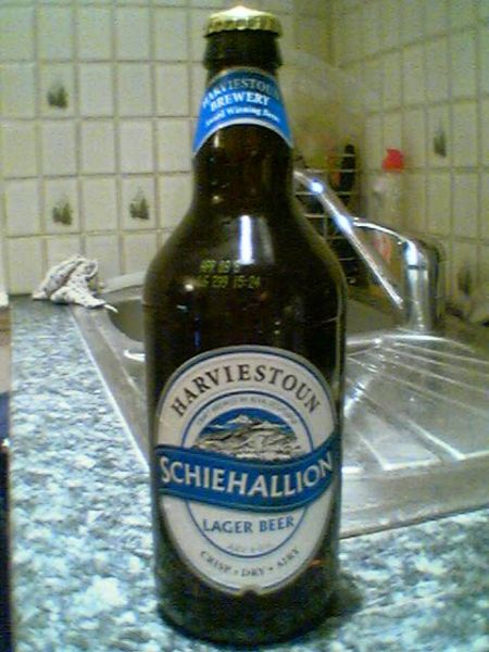 Harviestoun Schiehallion bottle