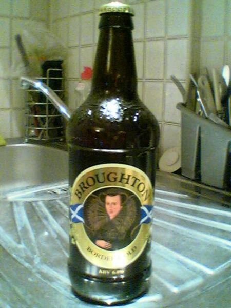 Broughton Border Gold bottle