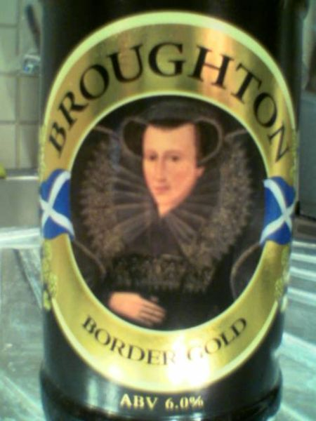 Broughton Border Gold front label