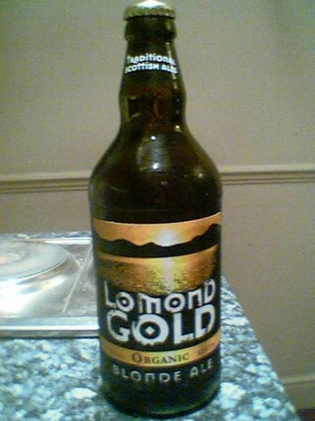 Traditional Scottish Ales Lomond Gold Blone Ale bottle