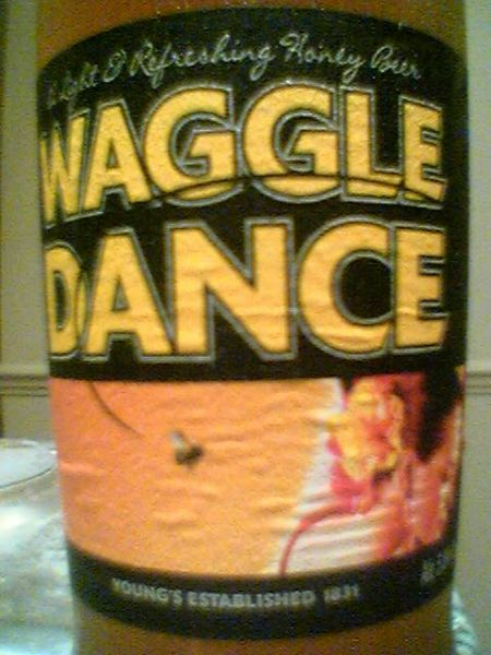 Young's Waggle Dance front label