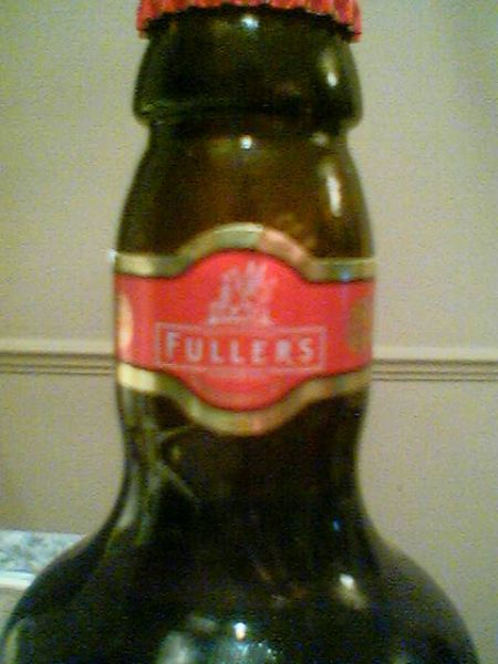 Fuller's London Pride neck label