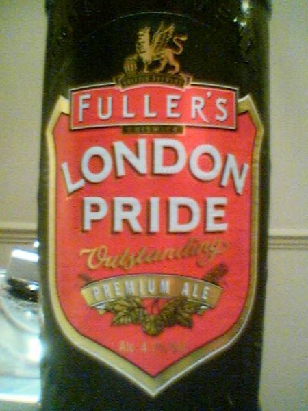 Fuller's London Pride front label