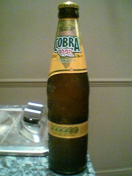 Cobra Extra Smooth Premium Lager Beer bottle