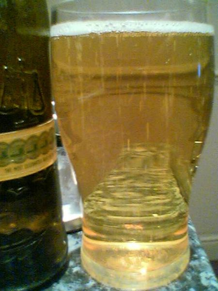 Cobra Extra Smooth Premium Lager Beer poured into a glass