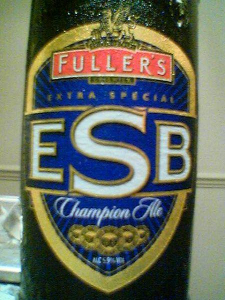 Fuller's ESB Champion Ale front label