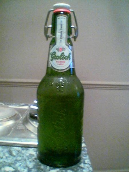 Grolsch bottle with swingtop