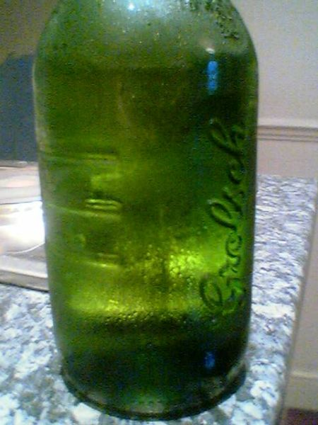 Grolsch Imported Premium Lager 3/4 bottle view