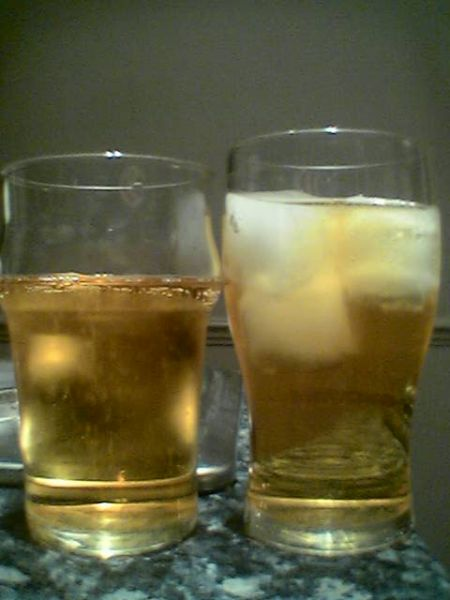 Cider with Ice vs. Cider without Ice - With Ice