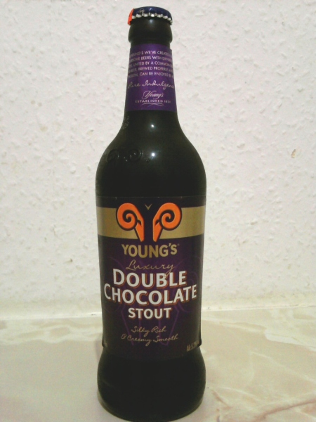 Young's Double Chocolate Stout bottle