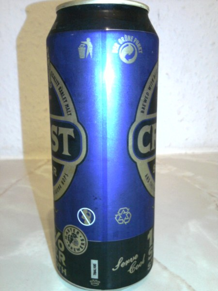Crest Super join side of the can
