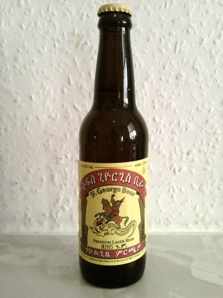 St. George Beer bottle