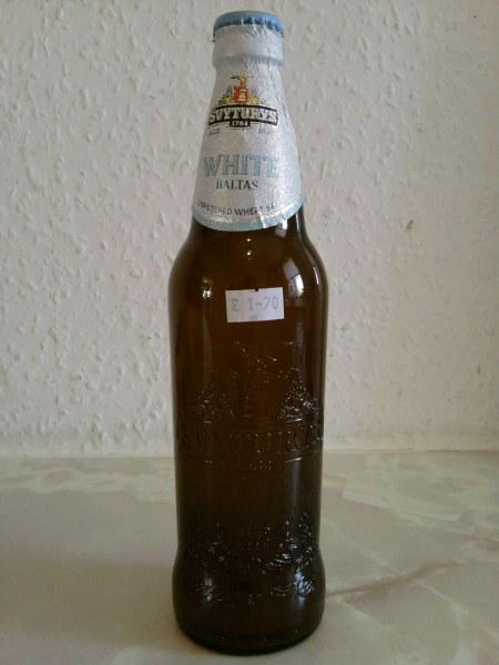 Švyturys Baltas bottle