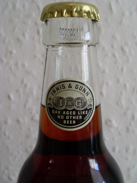Innis & Gunn Rum Cask neck label