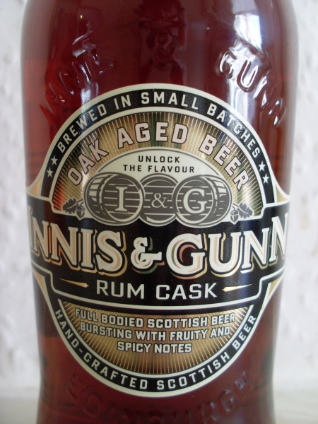 Innis & Gunn Rum Cask front label